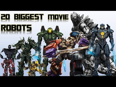 20 Biggest Movie Robots and Mechas