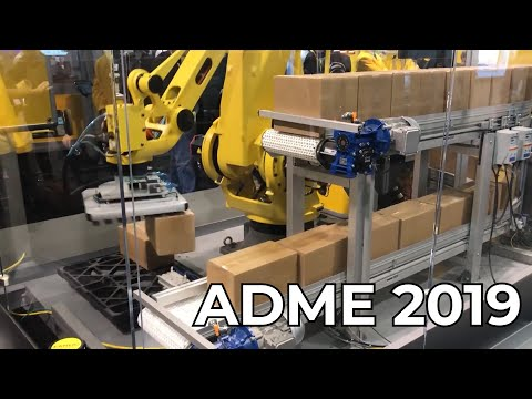 ADME 2019 | Advanced Manufacturing Design  Expo |  Some Cool Industrial Robots