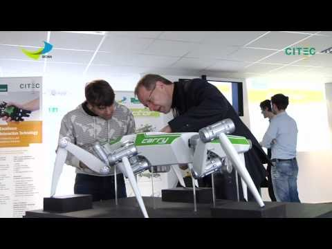 HECTOR, the novel hexapod robot from Bielefeld