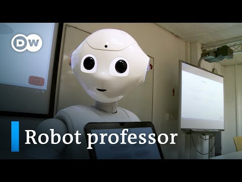 Meet Germany's first robot lecturer   DW Documentary