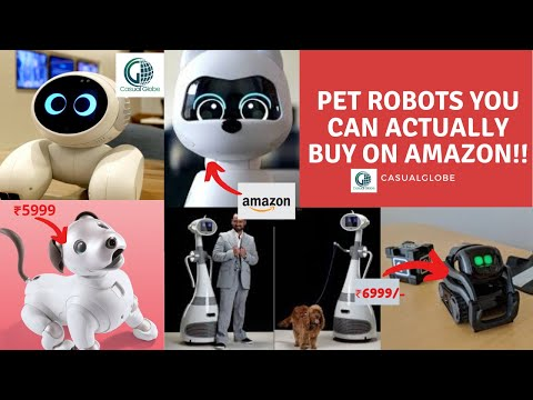 Pet Robots You Can Actually Buy On Amazon – Cool Robot Pets for 2020!