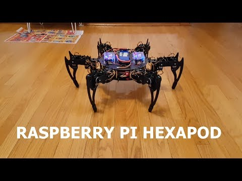 Raspberry Pi Hexapod Robot