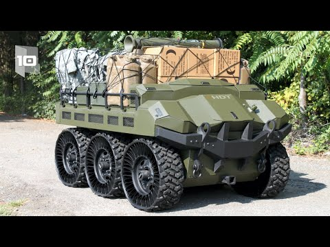 Top 10 Military Robotic Vehicles in the World