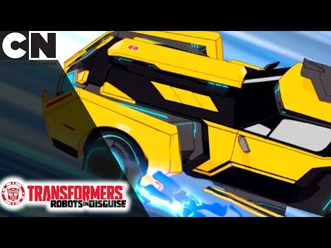 Transformers: Robots in Disguise   Bee Can Fly   Cartoon Network
